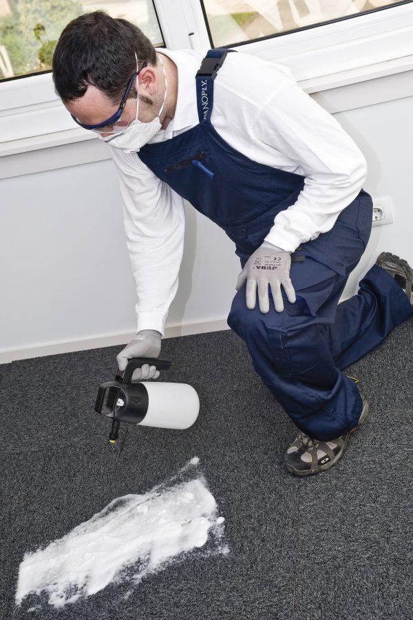 foam sprayer for carpets