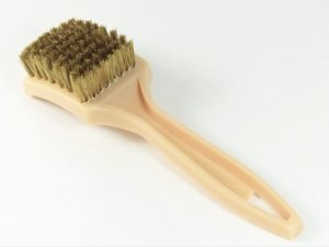 BARBEQUE BRASS BRISTLE BRUSH