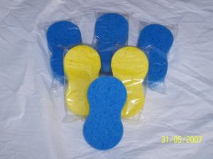 Cellulose blue yellow