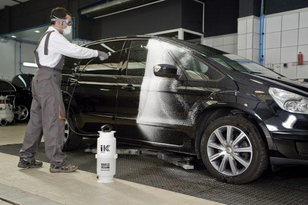 foam sprayer for car washing