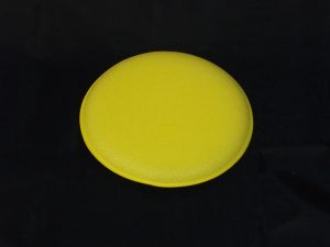 Yellow foam circular