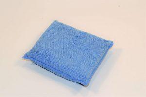 Blue microfibre 3 x 5 inch