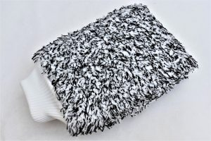 SALT & PEPPER MICROFIBRE WASH MITT